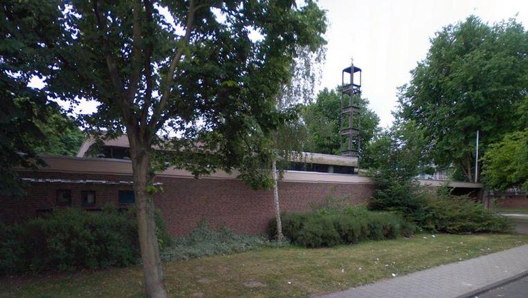 De Arrayanmoskee is al enkele jaren bezig met een plan voor een nieuw onderkomen in Noord. Beeld Google Street View