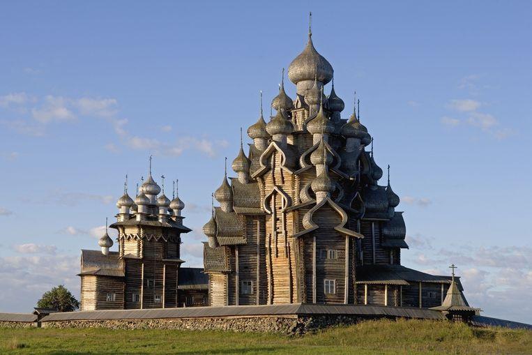 Middeleeuwse kerk in Karelië. Beeld Getty Images/age fotostock RM