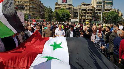 Syrische leger voerde sinds zondag 65 luchtaanvallen uit in rebellengebied