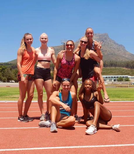 Hordeloopster Eefje Boons werkt hard aan kracht en start in Zuid-Afrika