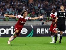 Arsenal heeft smaak te pakken