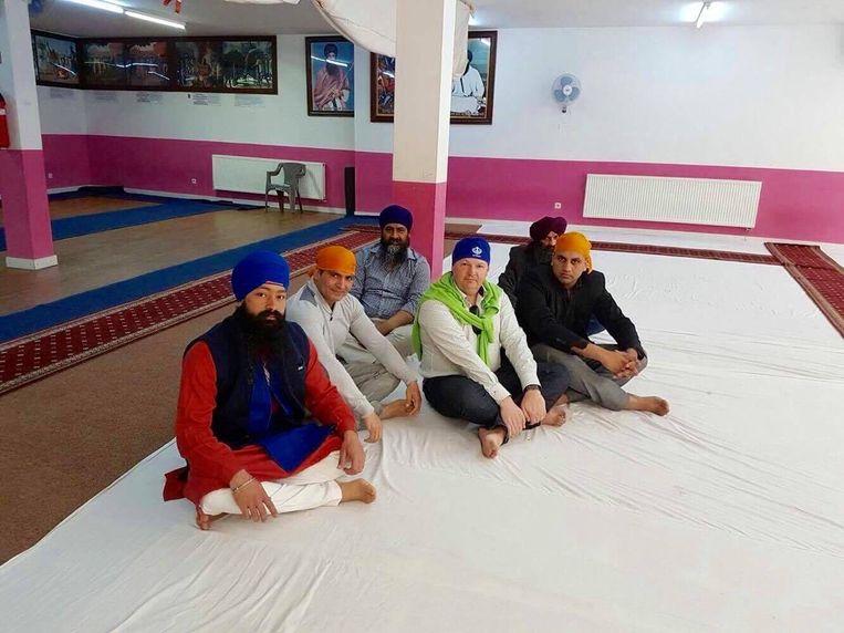 Toenmalig burgemeester Patrick De Klerck kwam in het oog van de storm terecht na een bezoek aan de Sikh-gemeenschap in Gent.