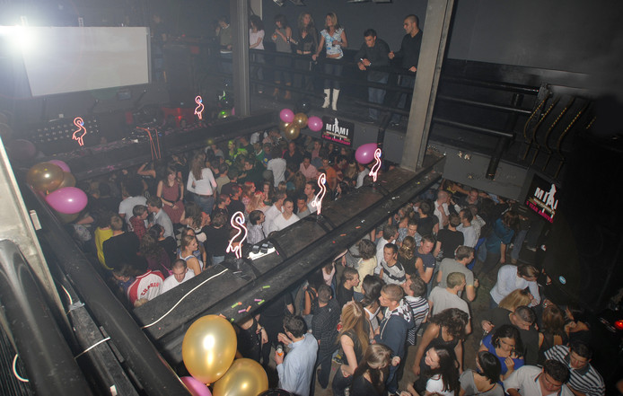 De Arnhemse discotheek Manhattan van binnen (archieffoto).