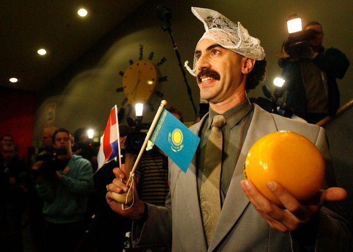 Kazachstan heeft het satirische typetje Borat van de Amerikaanse komiek Sacha Baron Cohen omarmd.