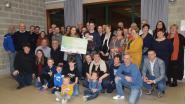 Vrienden en familie schenken 11.328 euro aan meisje met mucoviscidose
