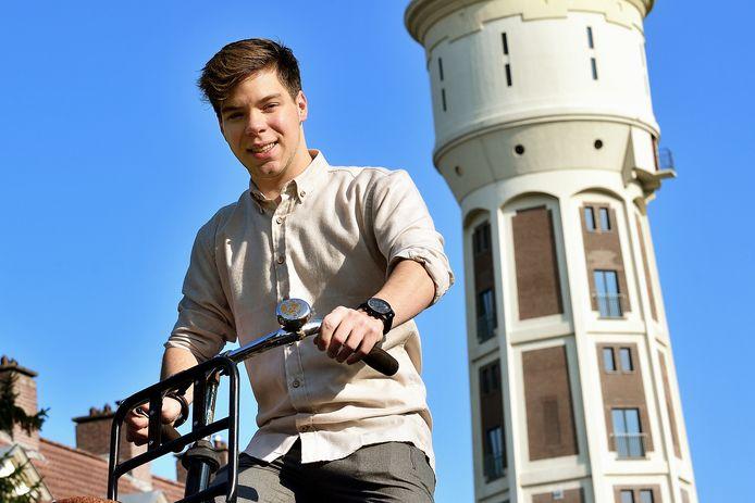 Voorzitter van de Jongerenraad Roosendaal: Sebastiaan Waegemaekers.
