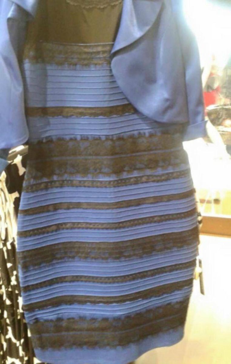 Welke kleuren zie jij: wit en goud of blauw en zwart? Beeld tumblr