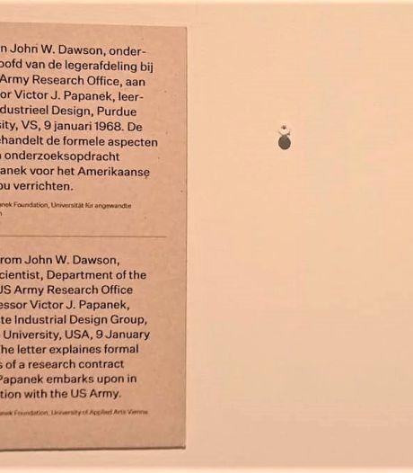 Plots twee witte vlekken op de muur van het Bossche museum...
