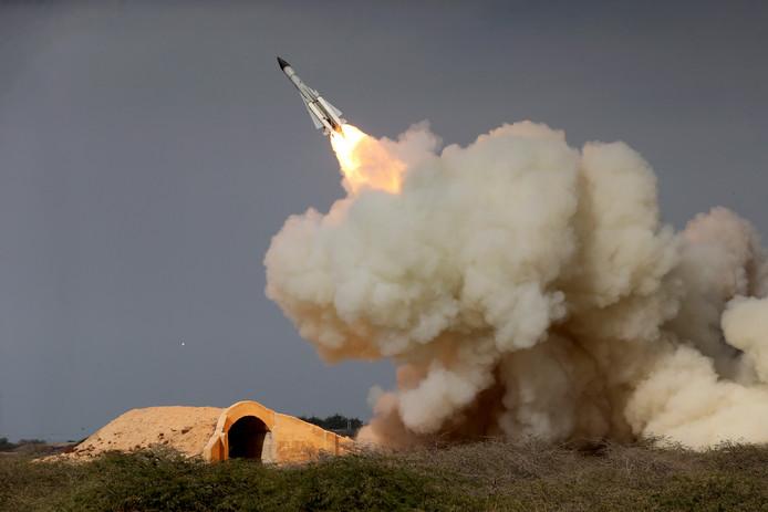 Iran testte in 2016 nog een ballistische raket.