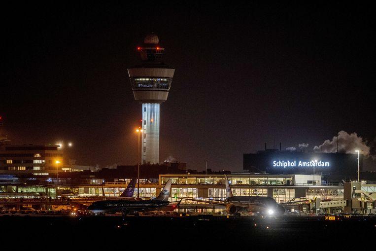 De vrouwen werden gearresteerd op de luchthaven van Schiphol.