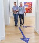 Volg de looplijnen is het devies in museum De Fundatie