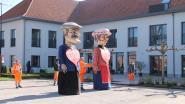 Groendienst trekt met Pittemse reuzen naar woon-en zorgcentrum Sint-Remigius