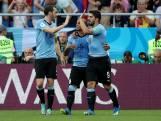 Getergde jubilaris Suárez schiet Uruguay naar achtste finale