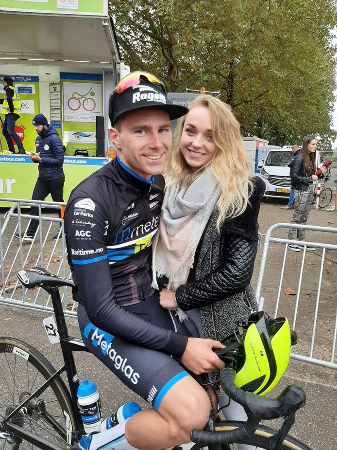 Dennis van der Horst en zijn Julia.