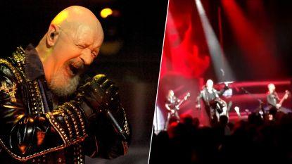 Judas Priest-zanger trapt smartphone uit handen filmende fan