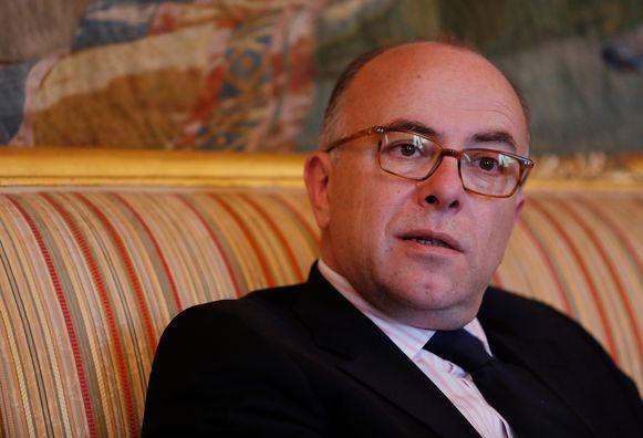 Frans minister van Binnenlandse Zaken Bernard Cazeneuve.