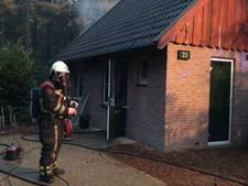 Gewonde bij brand op villapark in Deurningen