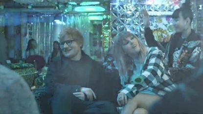 Wél Ed Sheeran, maar toch geen Katy Perry in nieuwe videoclip Taylor Swift