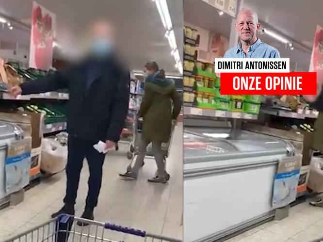 ONZE OPINIE. Het incident met de 'jonagoldman' is niet grappig, maar vooral herkenbaar voor wie zelf in een winkel werkt