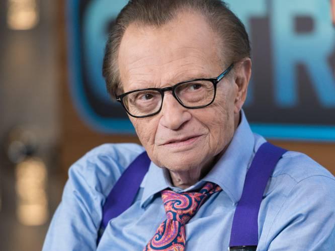 Larry was 'King' van talkshows, maar gebroken na gokverslaving, acht scheidingen en het verlies van twee kinderen