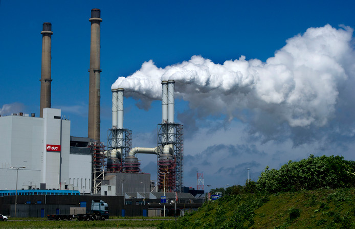 Energiecentrale EON op de Maasvlakte.