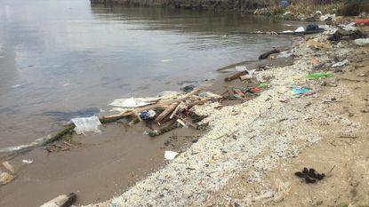 Haven pakt vervuiling plastic korrels aan