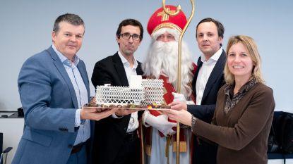 Sinterklaas officialiseert ontwikkeling Keerdok-Eandissite
