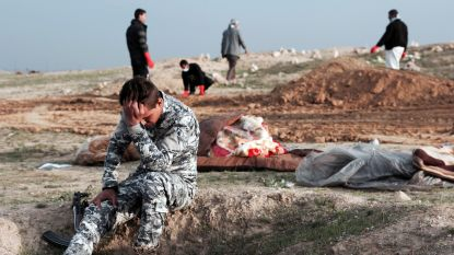 Irak legt eerste IS-massagraf bloot in yezididorp