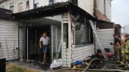 Bijgebouw woning uitgebrand, ook vijf blauwfazantjes stikken in de rook