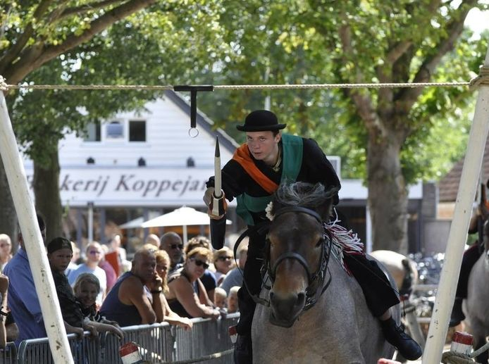 Stijn de Visser won in Meliskerke het dagklassement met 23 van de 23 ringen