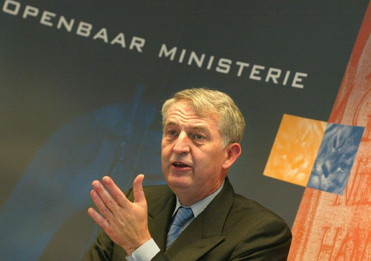 Joan de Wijkerslooth in 2002.` Beeld anp