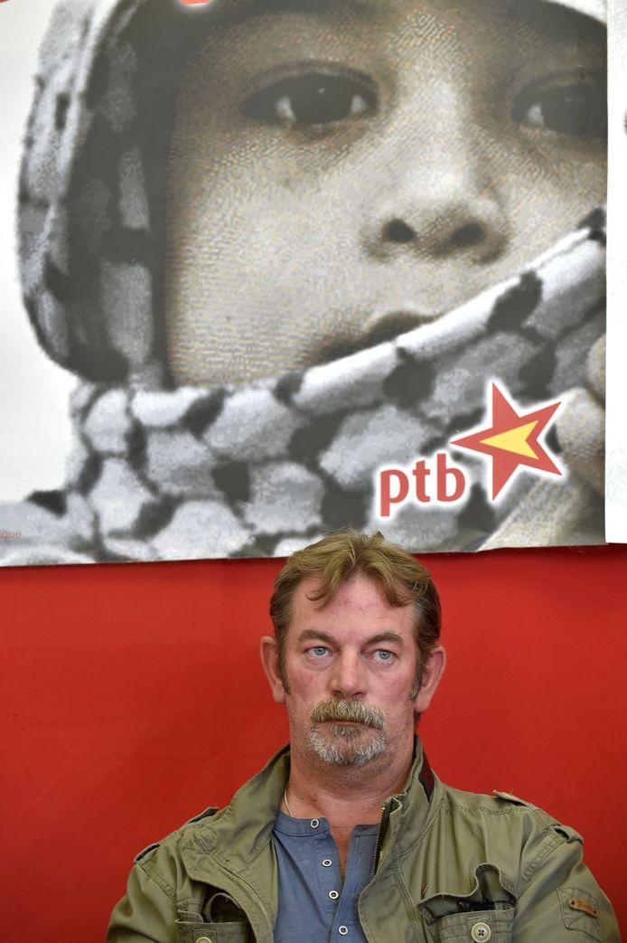 Frédéric Gillot, ancien travailleur d'ArcelorMittal Liège et ex-député wallon du PTB (2014-2019)