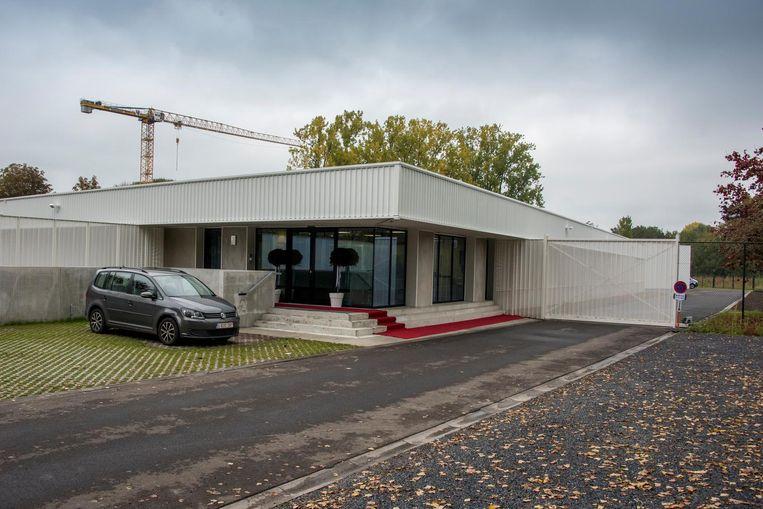 Het politiehuis van Landen, dat in oktober 2015 geopend werd.
