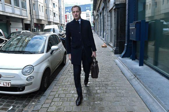 Open Vld-onderhandelaar Alexander De Croo.
