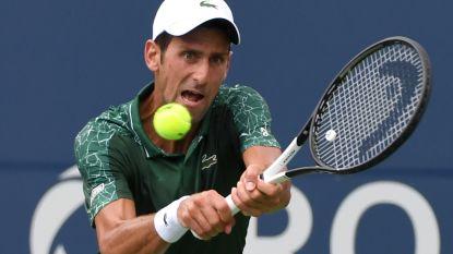 Djokovic schiet uitstekend uit startblokken in Toronto, Goffin beleeft vroege exit
