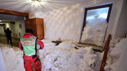 Sneeuwchaos in Italië: lawine walst over vakantiehuis