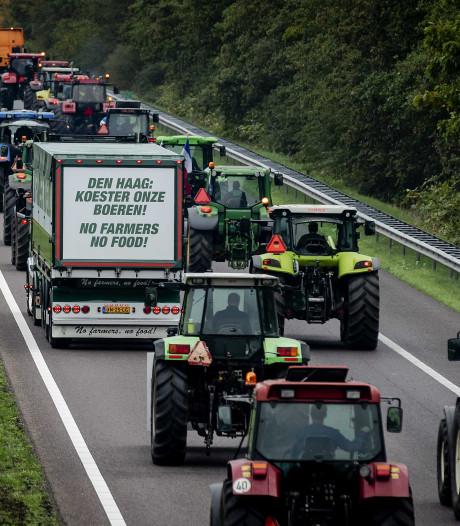 Boeren verzamelen (wederom) bij Thialf voor boerenprotest