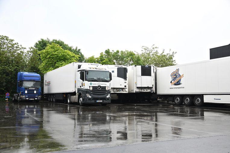 De Belgische vestiging van het Litouwse bedrijf RV Transport is gevestigd langs de Nijverheidslaan in Geluwe.