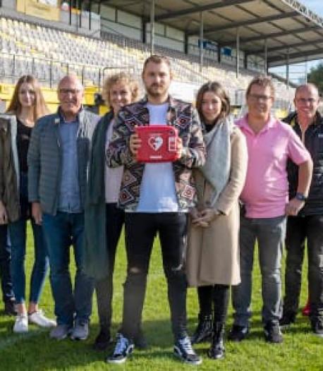 Door Jeroen Zoet geschonken AED blijkt direct levensreddend