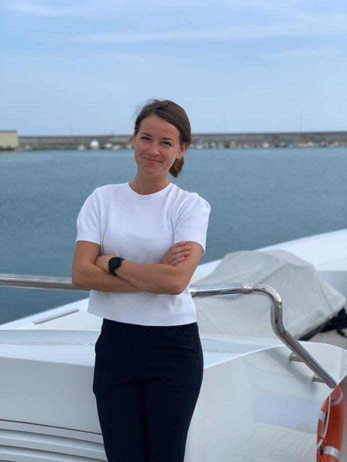 Lonneke Slijper zit vast op een luxe jacht in Italië.