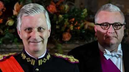 Koning Filip werkte dit jaar harder dan ooit, prins Laurent 40 procent minder