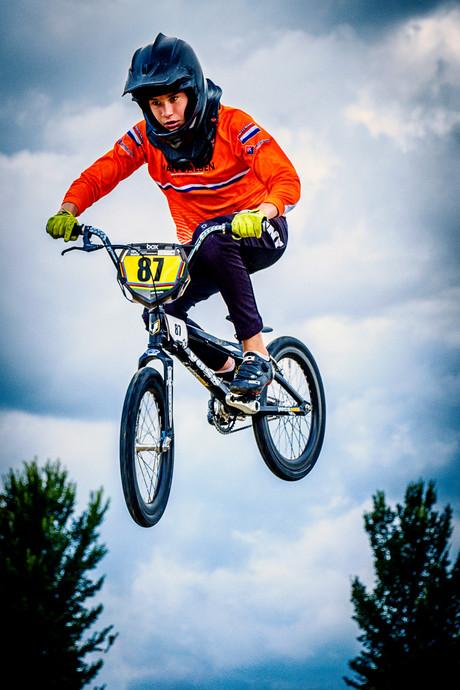 BMX'er Daan: 'Het komt aan op kracht, lef, techniek en behendigheid'