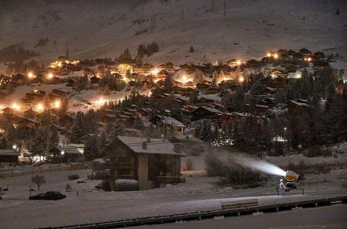 Verbier, in Zwitserland, opent zaterdag 5 december zijn skigebied.