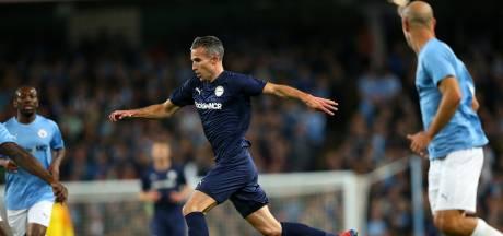 Van Persie geniet na carrière: 'Kompany vroeg me nog naar Anderlecht te komen'