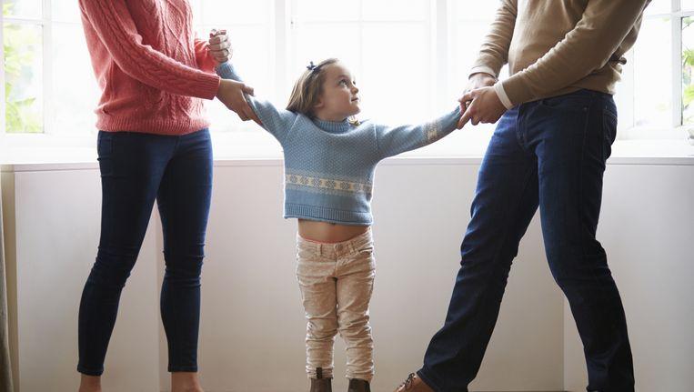 Drie op de zeven echtscheidingsadvocaten betrekken kinderen bij het ouderschapsplan. Beeld thinkstock