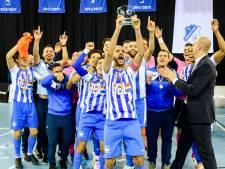 Historische winst zaalvoetballers FC Eindhoven; Benecup eerste internationale prijs