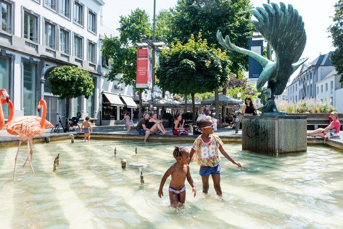 Door de coronamaatregelen starten de stedelijke fonteinen dit jaar later op.
