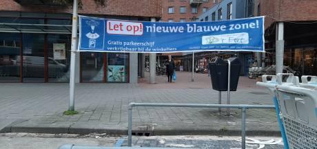 Winkelcentrum in Apeldoorn heeft opeens meer 'blauwe plekken' en dat is duidelijk even wennen