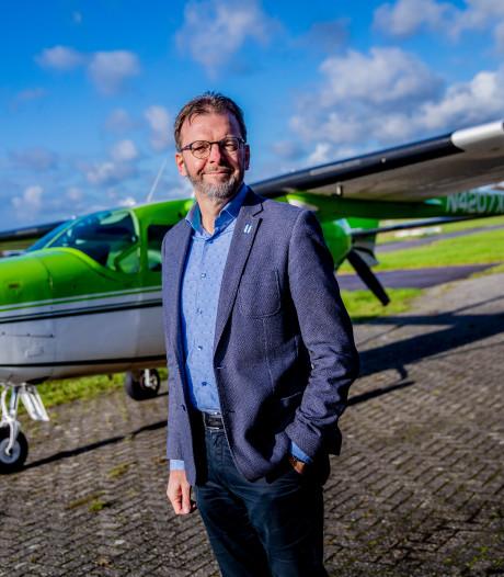 Revolutie in de luchtvaart: Leo uit Denekamp bouwt vliegtuig op batterijen