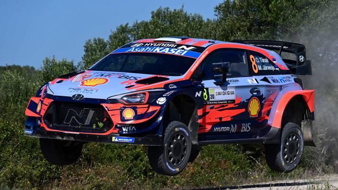 Evans en Tänak zijn elkaars evenknie in shakedown van Rally van Sardinië, Neuville rijdt zesde tijd